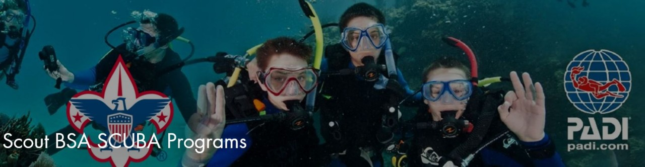 BSA's Exploring Program - Helping Develop the Next Scuba Pros