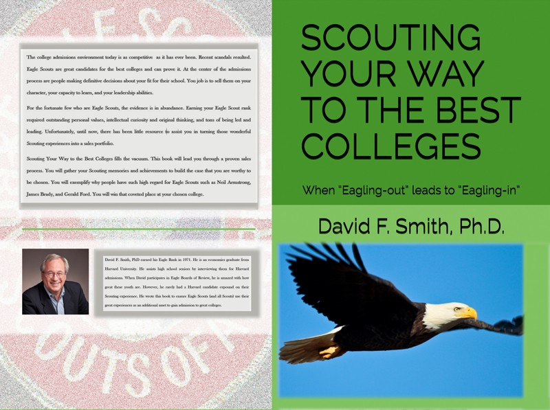Scouting Your Way to the Best Colleges: now on Amazon