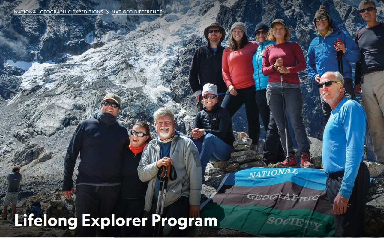 Educational Travel with the National Geographic Society
